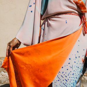 AGUA // Silk Kimono