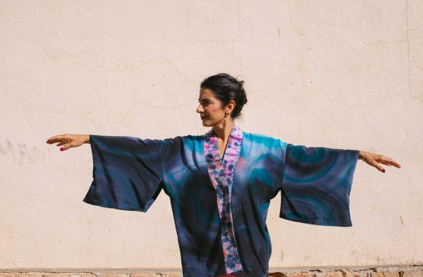 genoveva hita- creadora textil - silk kimono - anochecer (2)