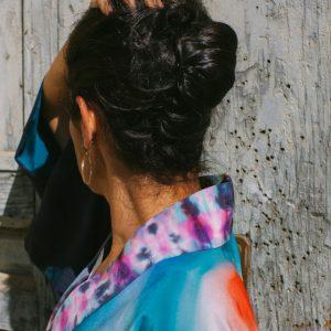 VACÍO // Silk Kimono