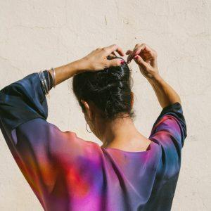 ATARDECER // Silk Kimono