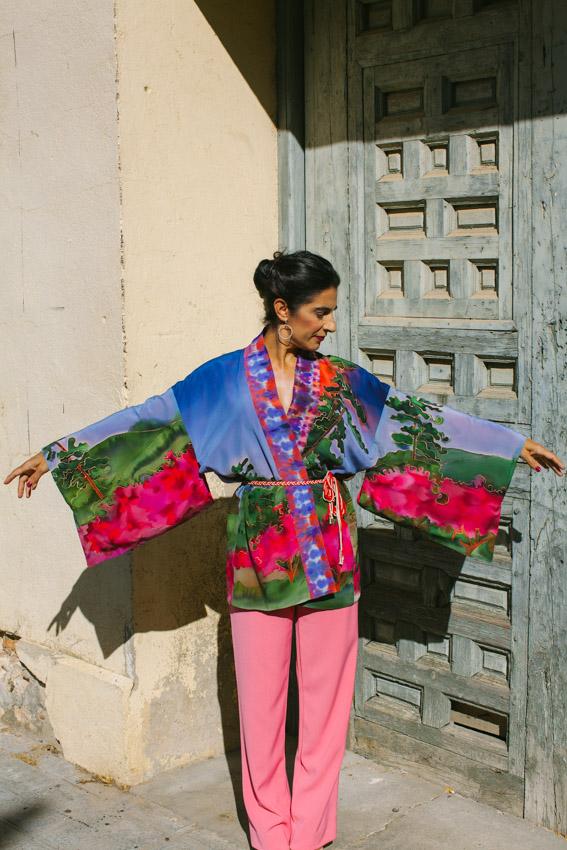 genoveva hita- creadora textil - silk kimono - fuego (7)