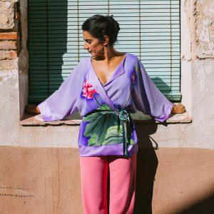 NENÚFAR // Silk Kimono