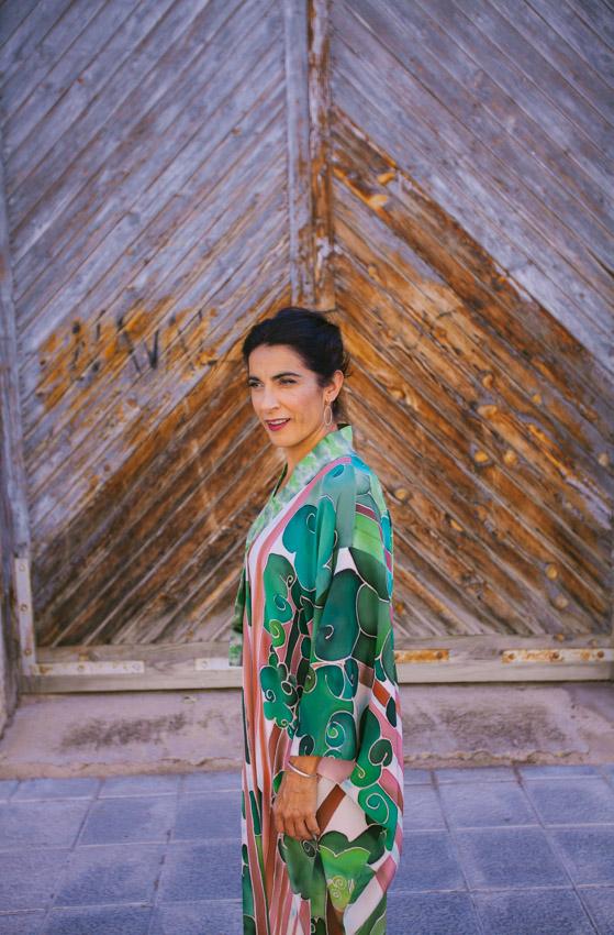 genoveva hita- creadora textil - silk kimono tierra (1)