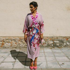 AIRE // Silk Kimono