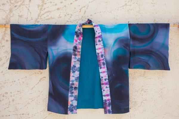 genoveva hita- creadora textil - silk kimono - anochecer (1)