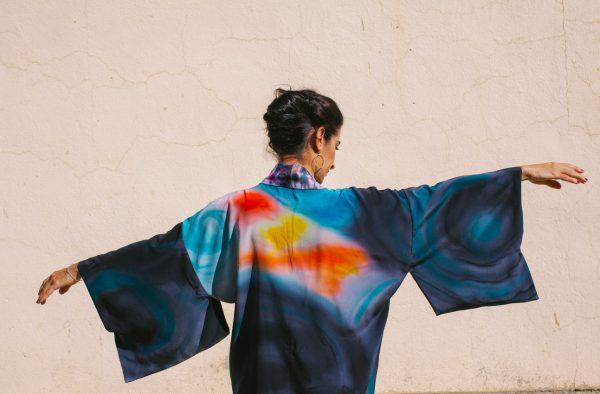 genoveva hita- creadora textil - silk kimono - anochecer (3)
