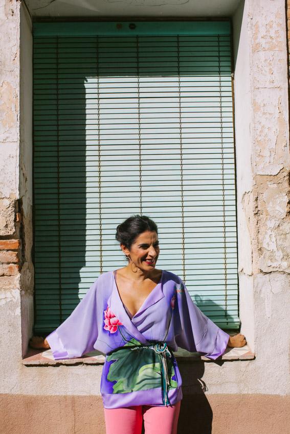 genoveva hita- creadora textil - silk kimono - nenufar (2)