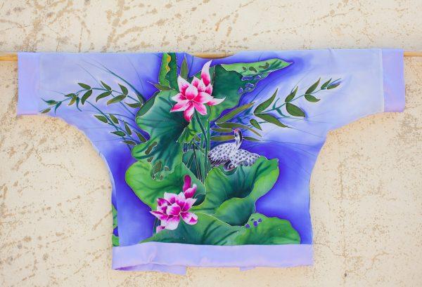 genoveva hita- creadora textil - silk kimono - nenufar (4)