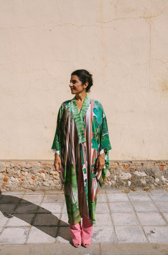 genoveva hita- creadora textil - silk kimono - tierra (2)